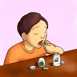 Dietary Supplement Dangers Artwork