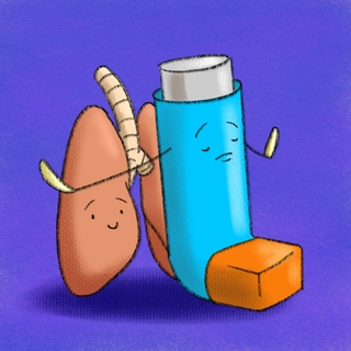 Advanced Asthma Topics: Inhaled Corticosteroids Artwork