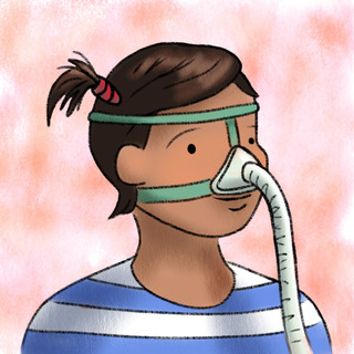 Noninvasive Ventilation Artwork