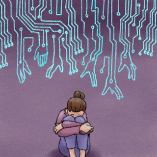 Cyber-Bullying Artwork
