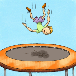 Trampolines: Incidents and Injuries Artwork
