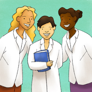 Women in Medicine Artwork
